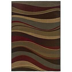 Beige Stripe Rug (8'2 x 10')