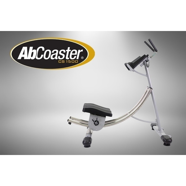 Ab Coaster CS1500 Exercise Machine, Silver stainless steel
