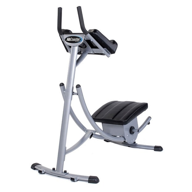 Ab Coaster PS500 Exercise Machine, Silver stainless steel