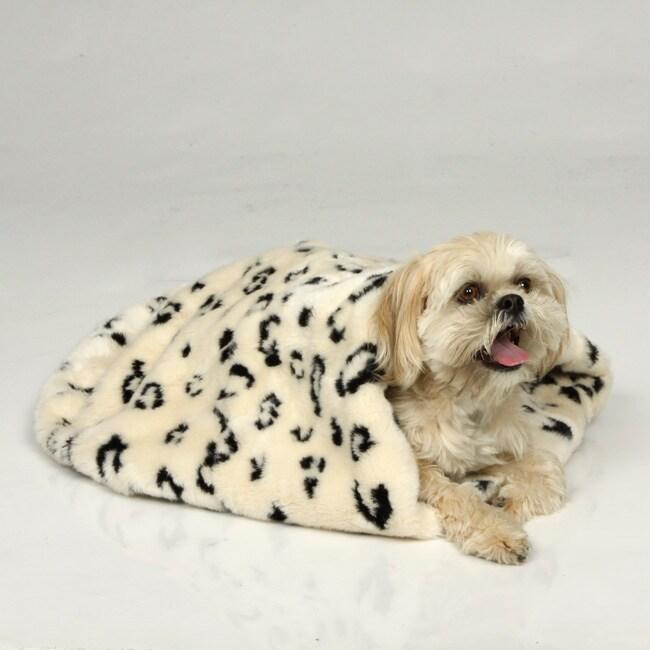 Tiger Dreamz 3 Way Snuggle Luxury Pet Bed