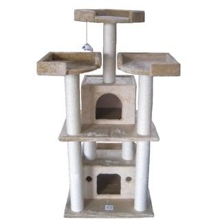 GoPetClub 51-inch Cat Tree Condo