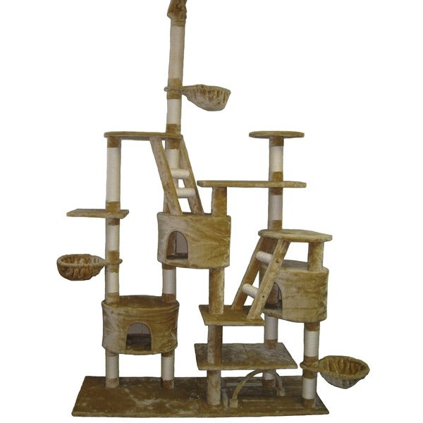Go Pet Club Huge Gym Cat Tree Condo