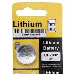 INSTEN CR2032 Lithium Coin Battery (Pack of 5) - Thumbnail 2