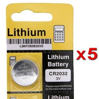 INSTEN CR2032 Lithium Coin Battery (Pack of 5)