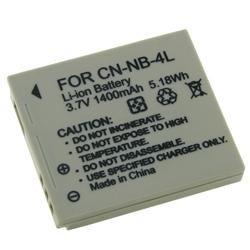 INSTEN Li-ion Battery for Canon NB-4L/ PowerShot SD630 (Pack of 3) - Thumbnail 2