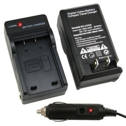 INSTEN Li-ion Battery/ Compact Battery Charger Set for Casio NP-20