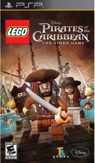 PSP - Lego Pirates of the Caribbean