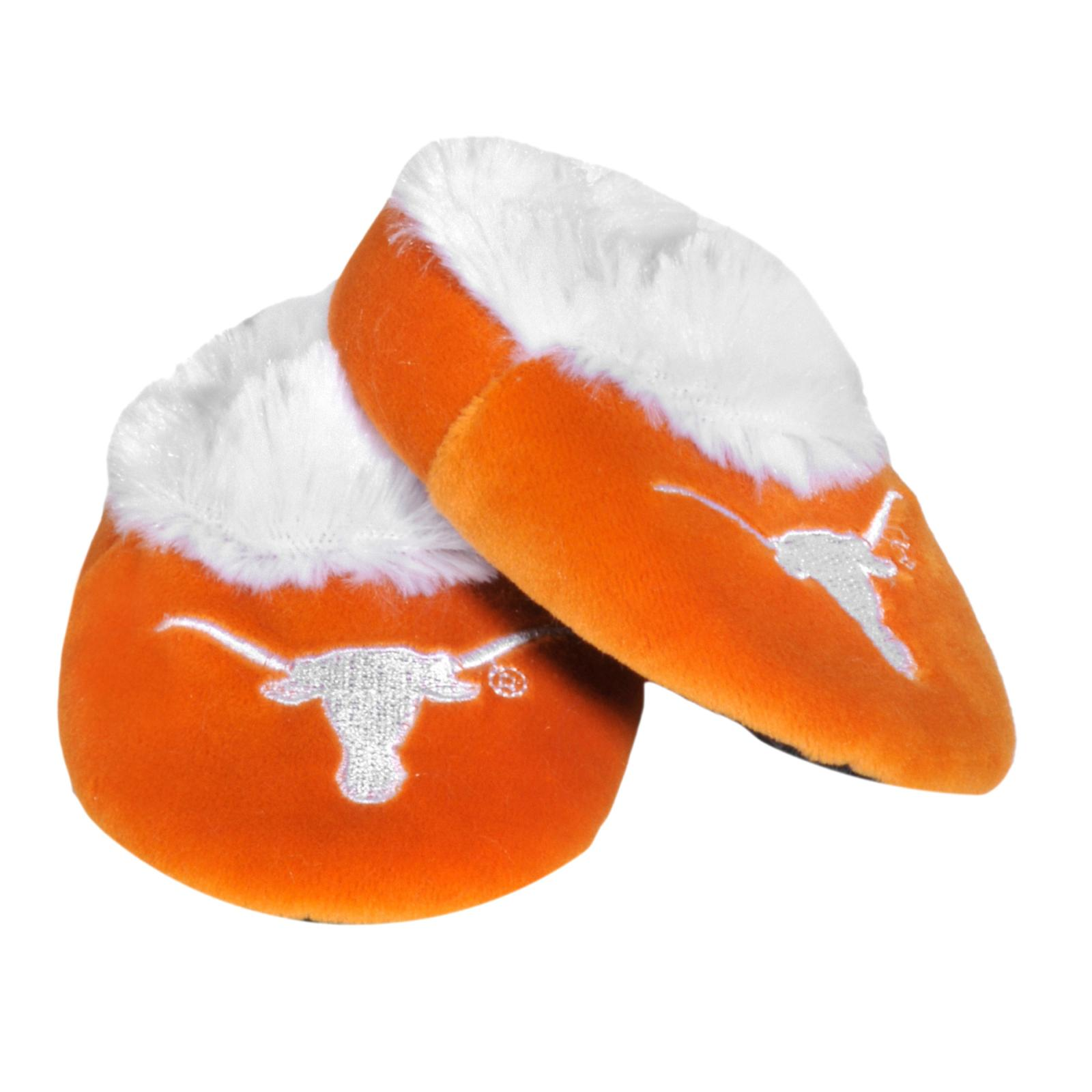 Texas Longhorns Baby Bootie Slippers