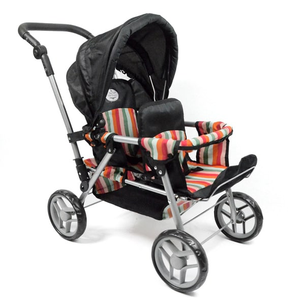 """Doll Twin Stroller for 18"""" and Smaller Dolls"""