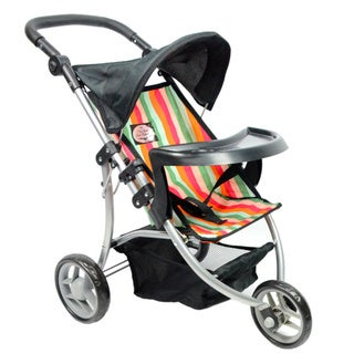 New York Doll Collection Single Jogging Stroller