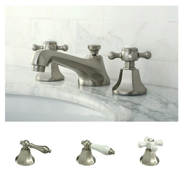 Metropolitan Satin Nickel Widespread Bathroom Faucet - Free Shipping ...