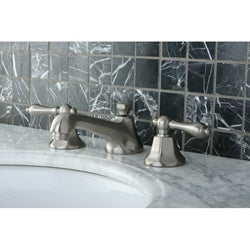 Metropolitan Satin Nickel Widespread Bathroom Faucet