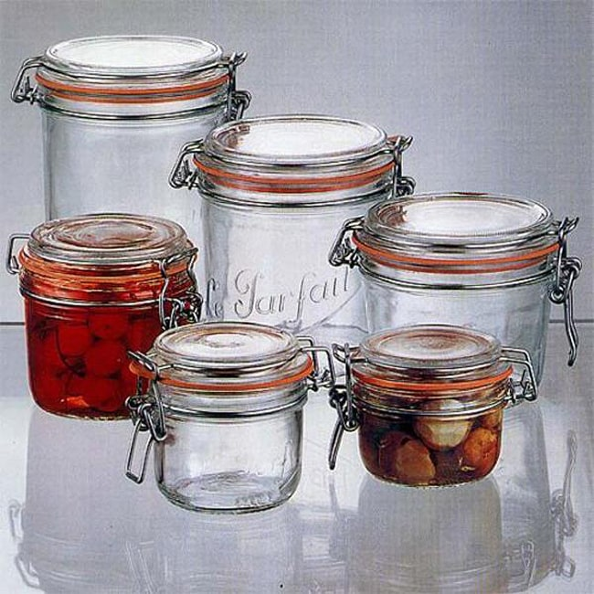 Le Parfait 35-oz Gasket Canning Jars (Pack of 6)