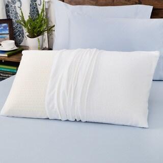 authentic talatech 230 thread count latex foam medium density pillow