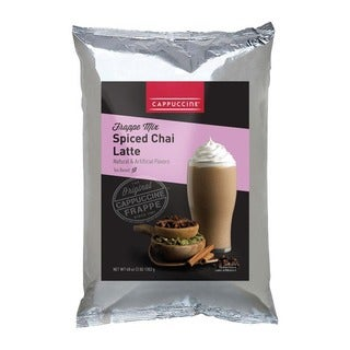 Cappuccine 3-pound Spiced Chai (Pack of 5)