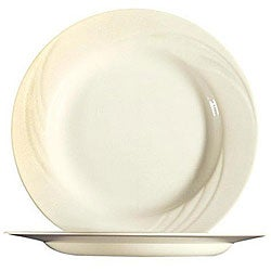 Cardinal International Cypress 9.5-in Lunch Plates (Case of 24)