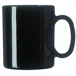 Cardinal International 10.5-oz Black Mugs (Pack of 12)