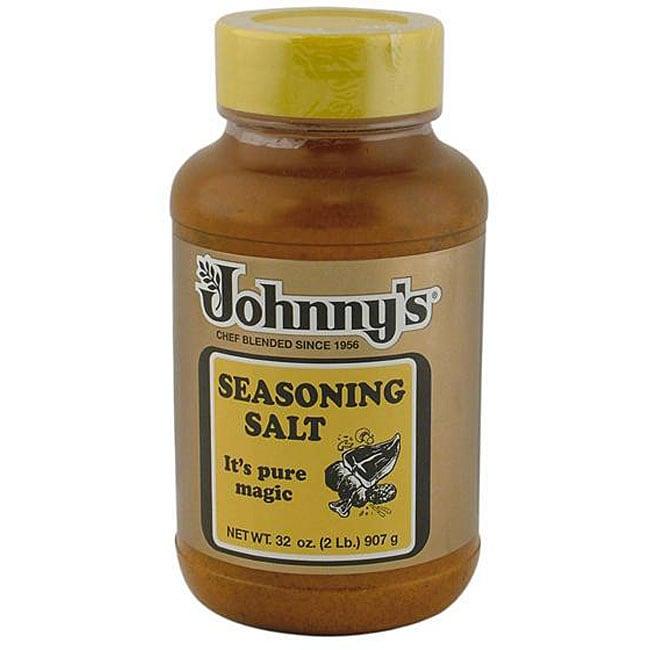 Johnny's Fine Food's 2-lbs CS Johnny's Seasoning Salt (Pack of 12)