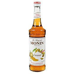 Monin 750-ml Caramel Syrup (Pack of 12)