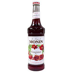 Monin 750-ml Pomegranate Syrup (Pack of 12)