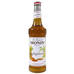 Monin 750-ml Gingerbread Syrup (Pack of 12)