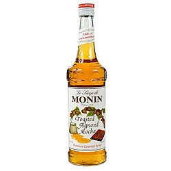 Monin 750-ml Toasted Almond Mocha Syrup (Pack of 12)
