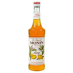 Monin 750-ml Mango Syrup (Pack of 12)