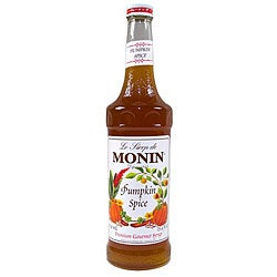Monin 750-ml Pumpkin Spice Syrup (Pack of 12)