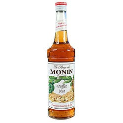 Monin 750-ml Toffee Nut Syrup (Pack of 12)