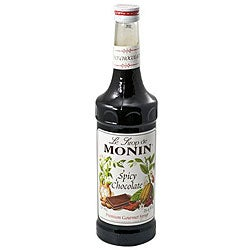 Monin 750-ml Spicy Chocolate Syrup (Pack of 12)