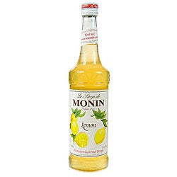 Monin 750-ml Lemon Syrup (Pack of 12)