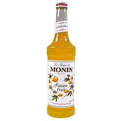 Monin 750-ml Passion Fruit Syrup (Pack of 12)