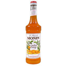 Monin 750-ml Candied Orange Syrup (Pack of 12)