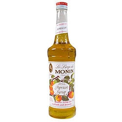 Monin 750-ml Apricot Syrup (Pack of 12)