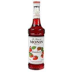 Monin 750-ml Strawberry Syrup (Pack of 12)