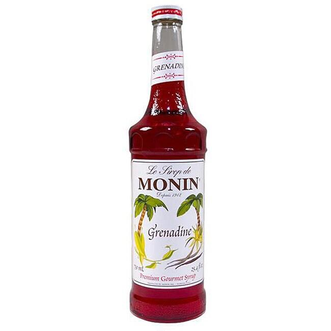 Monin 750-ml Grenadine Syrup (Pack of 12)