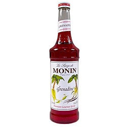 Monin 750-ml Grenadine Syrup (Pack of 12)