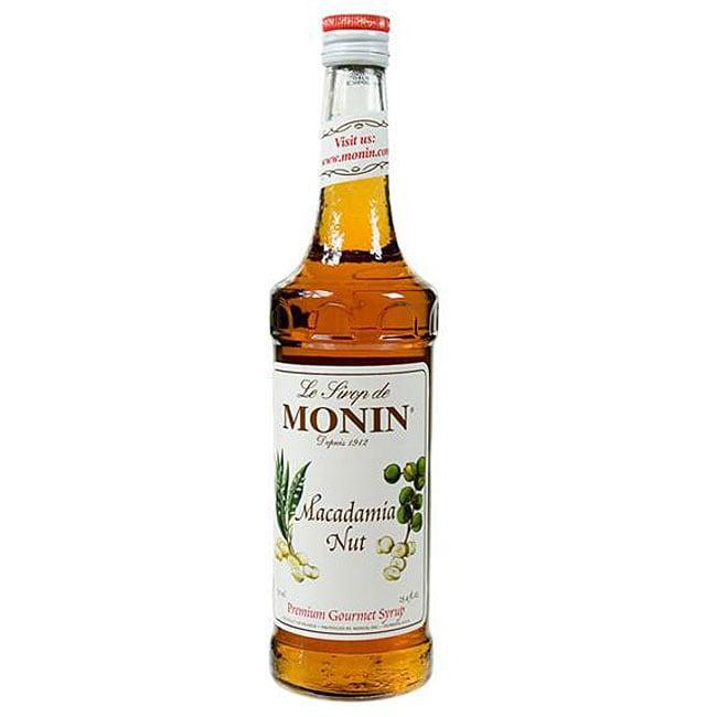 Monin 750-ml Macadamia Nut Syrup (Pack of 12)
