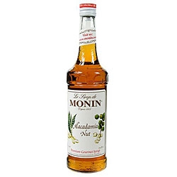 Monin 750-ml Macadamia Nut Syrup (Pack of 12)