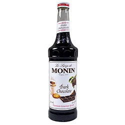Monin 750-ml Dark Chocolate Syrup (Pack of 12)