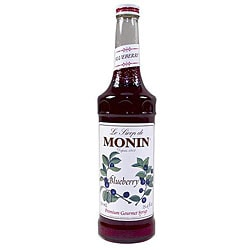 Monin 750-ml Blueberry Syrup (Pack of 12)