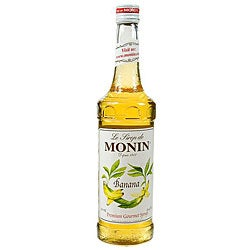 Monin 750-ml Banana Syrup (Pack of 12)