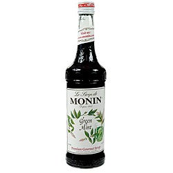 Monin 750-ml Mint Green Syrup (Pack of 12)