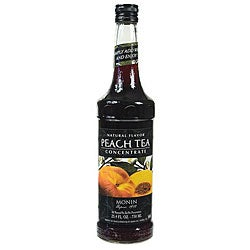 Monin 750-ml Peach Tea Concentrate (Pack of 12)