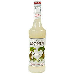 Monin 750-ml Coconut Syrup (Pack of 12)