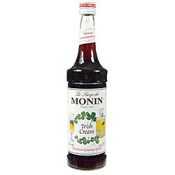 Monin 750-ml Irish Cream Syrup (Pack of 12)