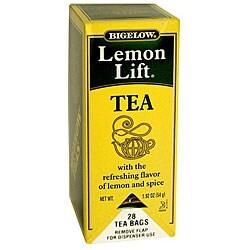 R.C. Bigelow CS Lemon Lift Tea (Case of 168)