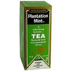 RC Bigelow Inc. Plantation Mint Tea (Case of 168)