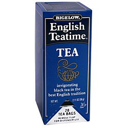 RC Bigelow Inc. English Teatime Tea (Case of 168)
