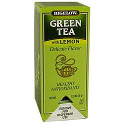 R.C. Bigelow CS 28-piece Green Tea with Lemon (Pack of 6)